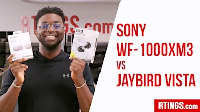 Video: Sony WF-1000XM3 vs Jaybird Vista