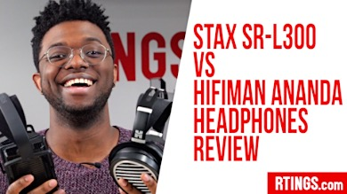 Video: Stax SR-L300 VS HiFiMan Ananda
