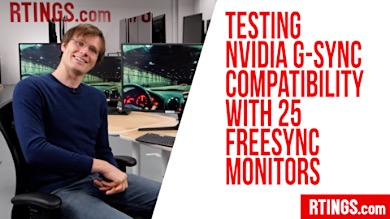 Video: Testing NVIDIA G-Sync compatibility with 25 FreeSync monitors